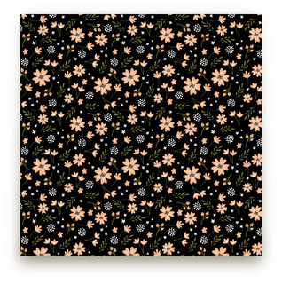 Floral Splash Fabric