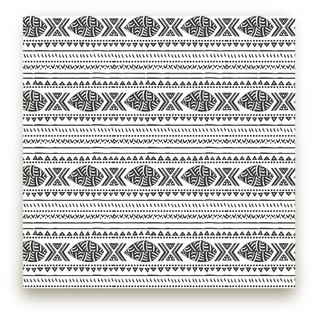 African Tribal Forest Fabric