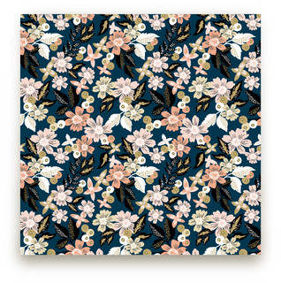 Midnight Florals Fabric