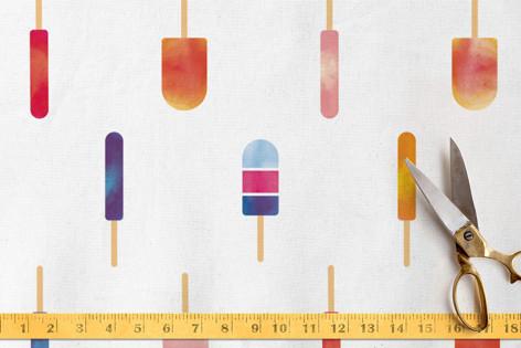 I love popsicles Fabric