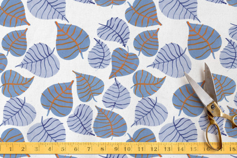 Summer Leaves Fabric