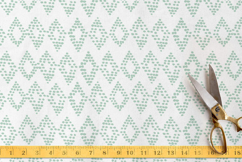 Dotted Diamonds Fabric