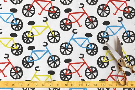 Bike Ride Fabric