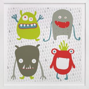 Monster Mash Nursery Art Print
