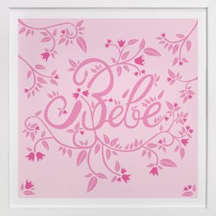 Bebe Nursery Art Print