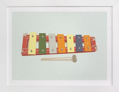 Xylophone Nursery Art Print