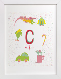 C is For.. Nursery Art Print