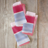 Soft Watercolor Stripe Napkins