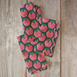 Geometric strawberries by Igor