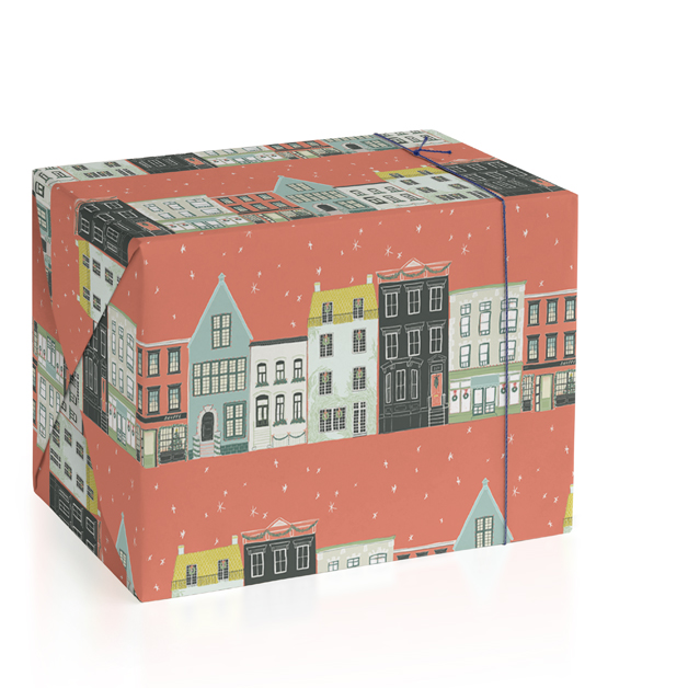 Main Street Wrapping Paper