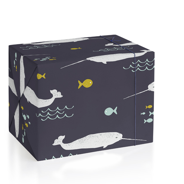 Sea Life Wrapping Paper