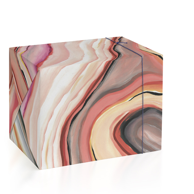 Rainbow Geode Wrapping Paper