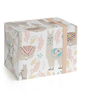 LaLaLlama Wrapping Paper