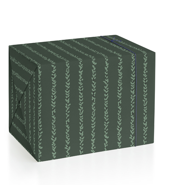 Dark Vine Wrapping Paper
