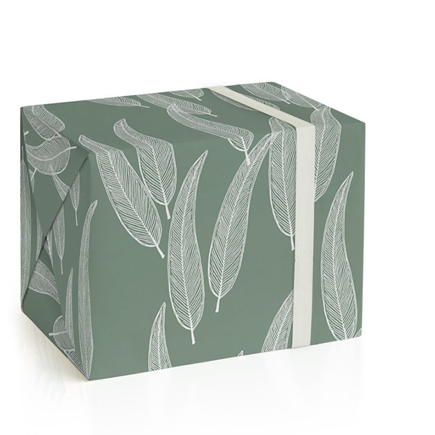 Sketched Willow Wrapping Paper