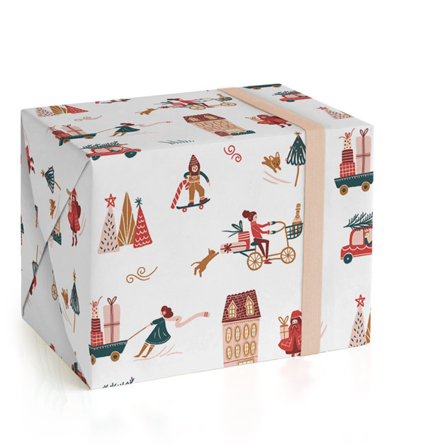 Holiday Season Wrapping Paper