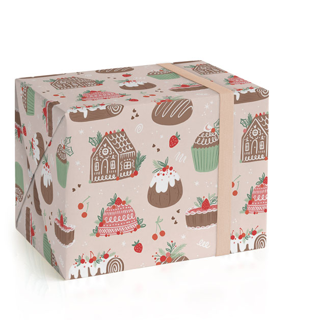 Holiday Bake Shop Wrapping Paper