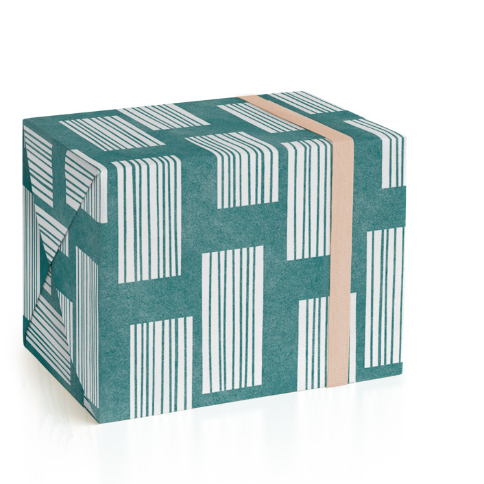 Mod Rectangles II Wrapping Paper