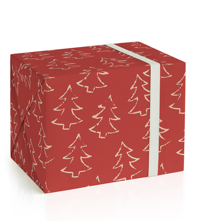 simple trees Wrapping Paper
