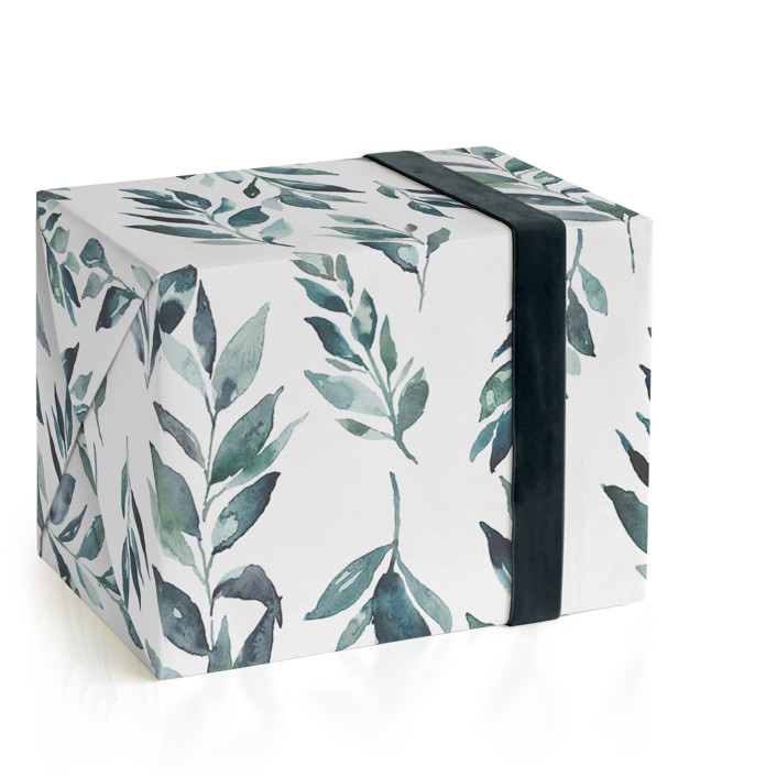 Noel Branch Wrapping Paper