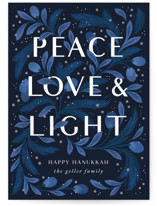 Peace Love and Light by Paper Raven Co.