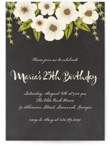 Plentiful Blossoms Party Invitations