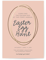 Golden Easter Egg Hunt
