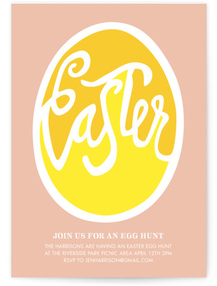 Good Egg Easter Invite Party Invitations
