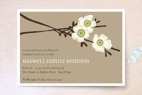 Apple Blossom Party Invitations