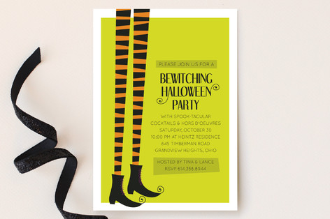 Bewitched Party Invitations