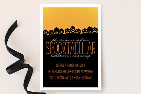 Spooktacular Party Invitations