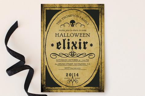 Elixir Party Invitations