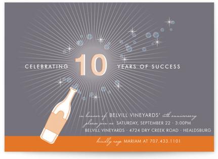 Celebrate Party Invitations