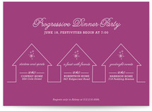 Progressive Dinner Party