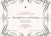 Opera Party Invitations