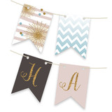 Holiday Bling Bunting Banners