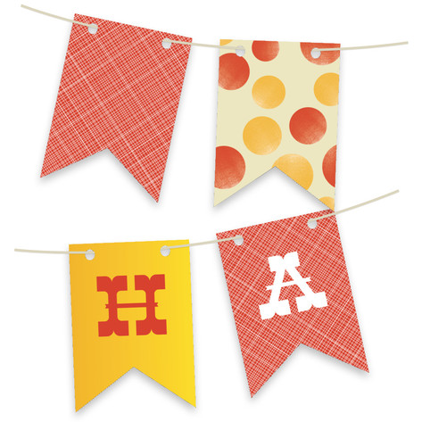 Greatest Circus Personalizable Bunting Banner