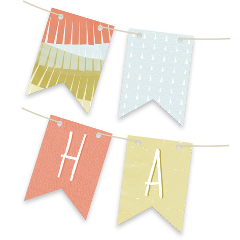 Delight Personalizable Bunting Banner