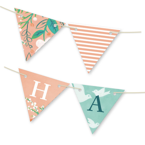 Matthiola Personalizable Bunting Banner