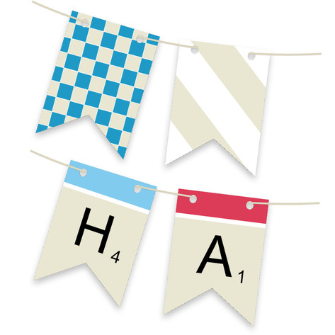Spellbound Personalizable Bunting Banner
