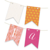 Wanderlust Personalizable Bunting Banners