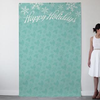 A Season for Stripes Personalizable Photo Backdrops