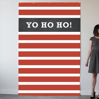 Yo Ho Ho! Personalizable Photo Backdrops