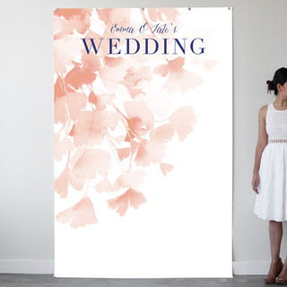 Ginkgo Personalizable Photo Backdrops