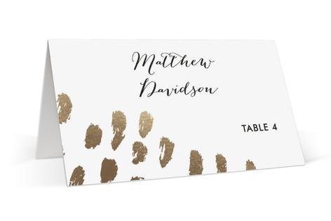 Brushworks Foil-Pressed Place Cards