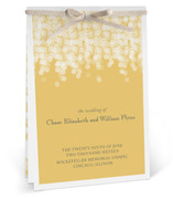 Under the Stars Unique Wedding Programs