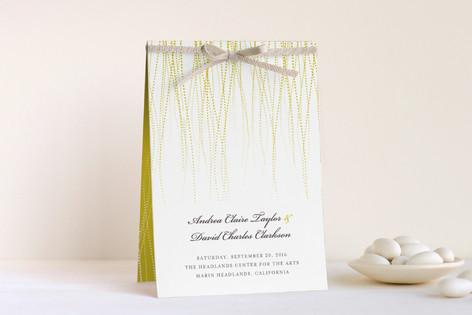 Goldshine Unique Wedding Programs
