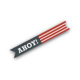 Yo Ho Ho! Flag Stickers