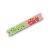 Strawberry Love Flag Stickers