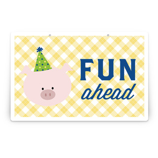 Barnyard Crew Personalizable Party Greeting Signs 2